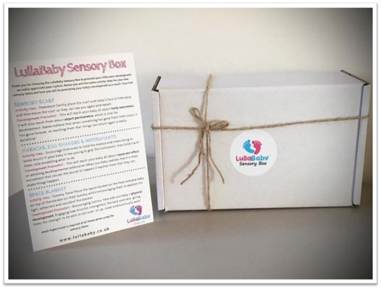 Sensory gift box child development